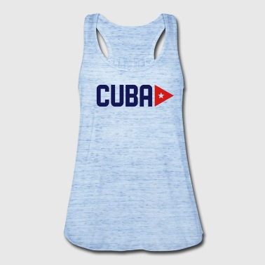CUBA CUBAN STAR - Women's Flowy Tank Top by Bella