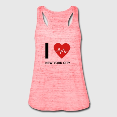 I Love New York City - Women's Flowy Tank Top by Bella