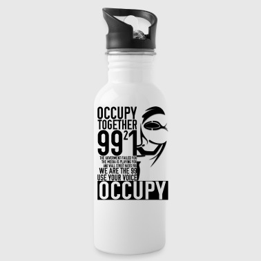 We Occupy - Water Bottle