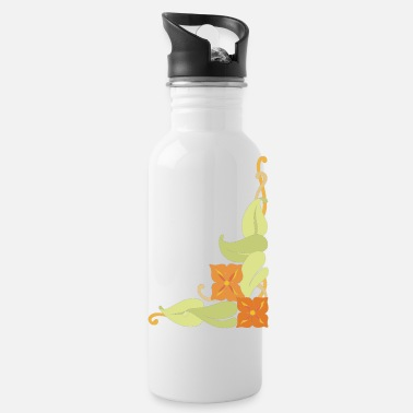 Corner corner flower - Water Bottle
