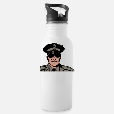 Cop cop - Water Bottle