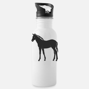 Foal foal horse - Water Bottle