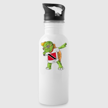 Trinidad and Tobago Dabbing Turtle - Water Bottle