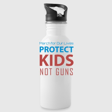 Days Of Our Lives March for Our Lives protect kids not guns - Water Bottle