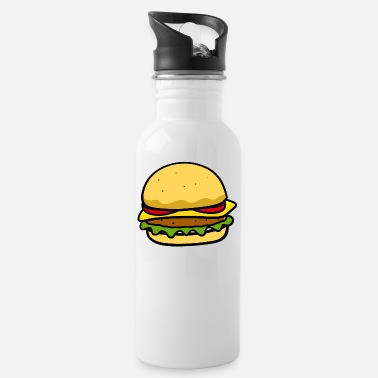 Beautiful Burger Burger - Water Bottle