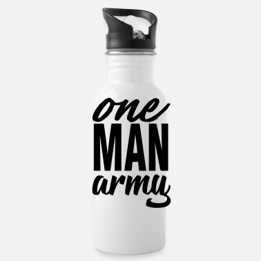 Army Man one man army - Water Bottle