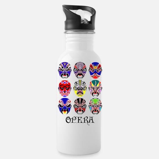 Opera Mugs & Drinkware - Opera - Water Bottle white