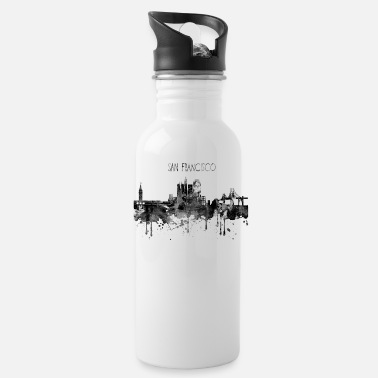 San San Francisco, San Francisco California - Water Bottle