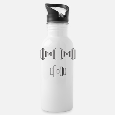 Frequency Barbel frequency - Water Bottle