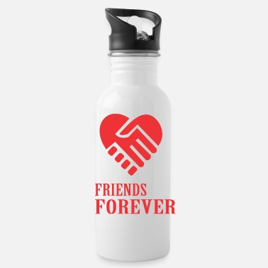 Friends Forever be friends forever - Water Bottle