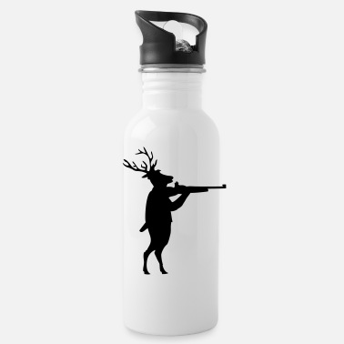 Deer Hunting deer hunting - Water Bottle