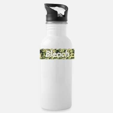 Bleached cam0 bleach - Water Bottle