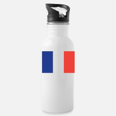 French Flag Flag of France Cool French Flag - Water Bottle