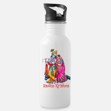 Divinely Beautiful Radha Krishna - Water Bottle