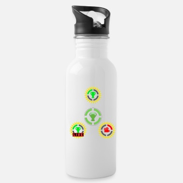 Game Game Theory Film Theory GT Live Official Logos - Water Bottle