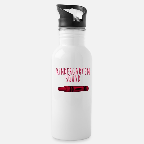 Children Mugs & Drinkware - Kindergarten Squad - Water Bottle white