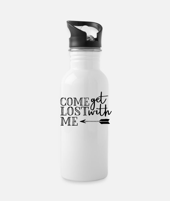 Quote Mugs & Cups - Quotes - Water Bottle white
