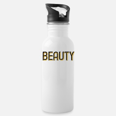 Beauty - beautiful - pretty - burlesque - glamour - Water Bottle