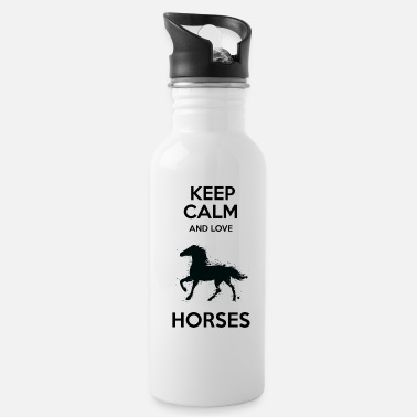 Western Riding Awesome Cute Horse Lover Quotes - Water Bottle