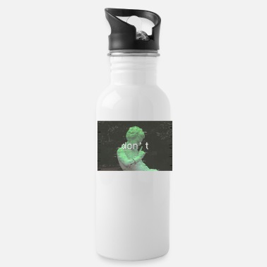 Emotion Funny Aesthetic Greek Statue graphic Gift - Water Bottle