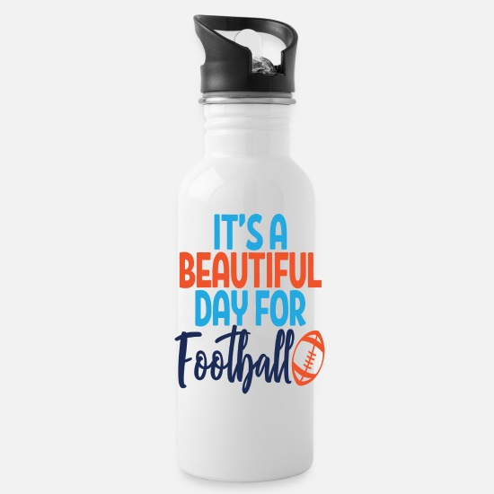 Legend Mugs & Drinkware - Beautiful Day - Water Bottle white