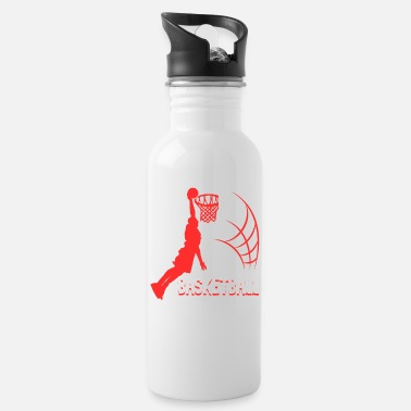 Basketball Lover Present basketball shirt sport play basketball present - Water Bottle