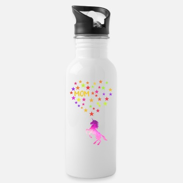 Fantasy Unicorn Mom Mother's Day Birthday Matching Family - Water Bottle