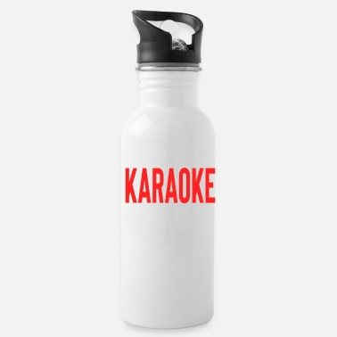 Son What Happens At Karaoke Stays At Karaoke - Water Bottle