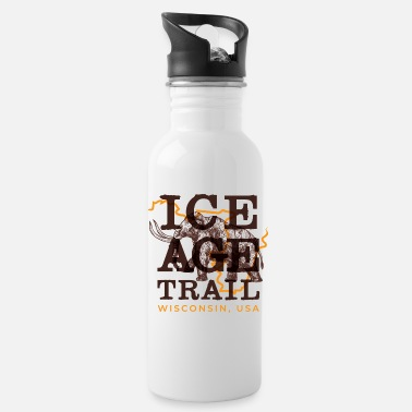 Ice Age Ice Age Trail - Wisconsin, USA - Water Bottle