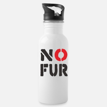 Fur No Fur - Water Bottle