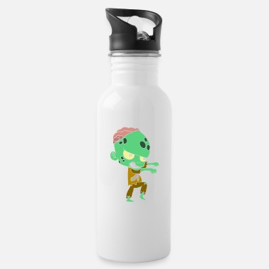 Young Halloween costumes children with motif - Water Bottle