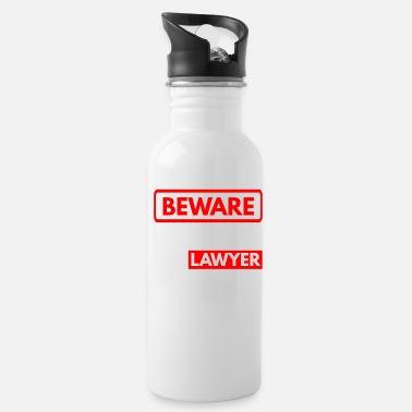 Court Beware My Daughter Is A Lawyer - Water Bottle