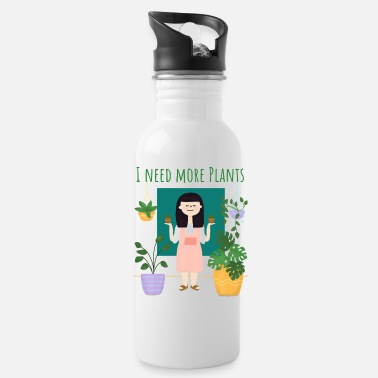 Plant Grounds plant lady - Water Bottle