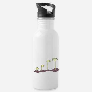 Phytology Botany - Growing Plant - Environmental Science - Water Bottle