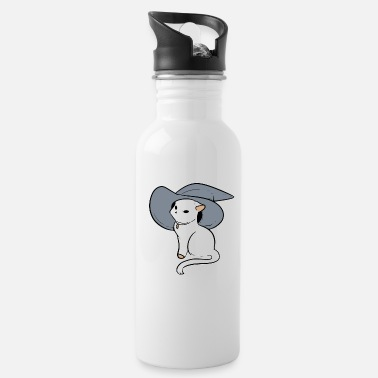 Perform Magic Witch Wizard Magician Or Cat Owner Gift - Water Bottle