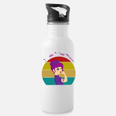 Terror Domestic Violence Warrior Unbreakable Women Vintag - Water Bottle