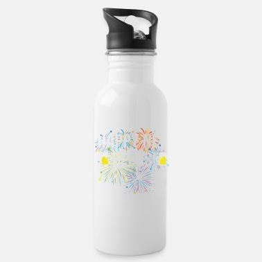 Over Cute Funny Saying Design - Water Bottle
