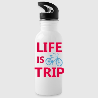 Life is a trip - Water Bottle