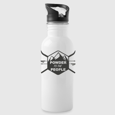 POWDER TO THE PEOPLE - Water Bottle