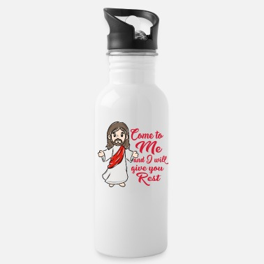 Christ Jesus Jesus Christ - Water Bottle