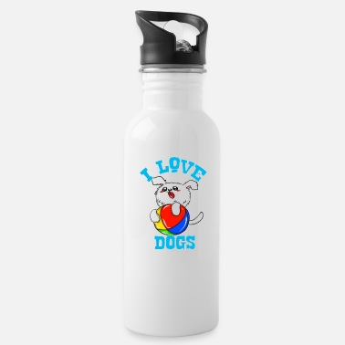 I Love Dogs I love dogs - Water Bottle