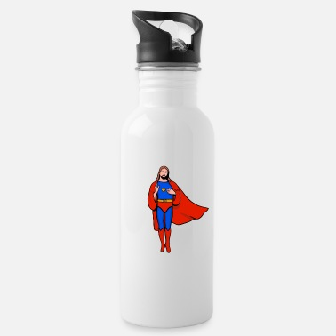Jesus Jesus Super Hero - Water Bottle