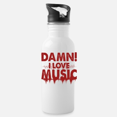 Music Video Music Music Music - Water Bottle