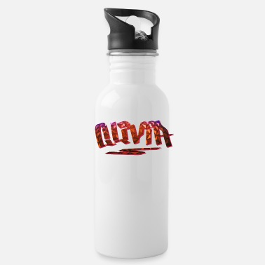 Birth Name Olivia Name Design - Water Bottle