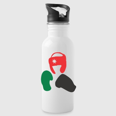 Ready For Vacation Ready Fighting - Water Bottle