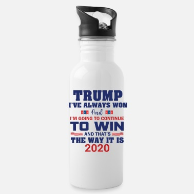 Patriot Trump 2020 - Water Bottle