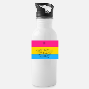 Pansexual PUNsexual - Water Bottle