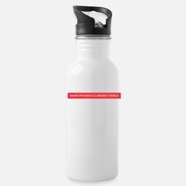Ill SUPREME STYLE INVISIBLE ILLNESSES - Water Bottle