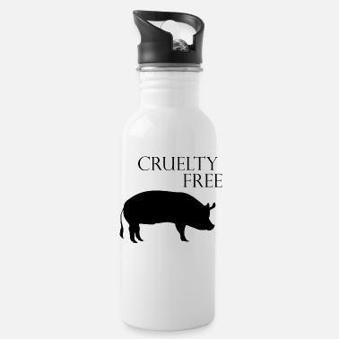 Healthy Cruelty Free Vegan - Water Bottle