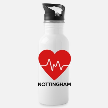 Nottingham Heart Nottingham - Water Bottle